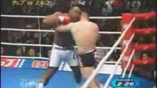 Mirko Cro Cop Filipovic combat contre Bob Sapp K1 UFC K1