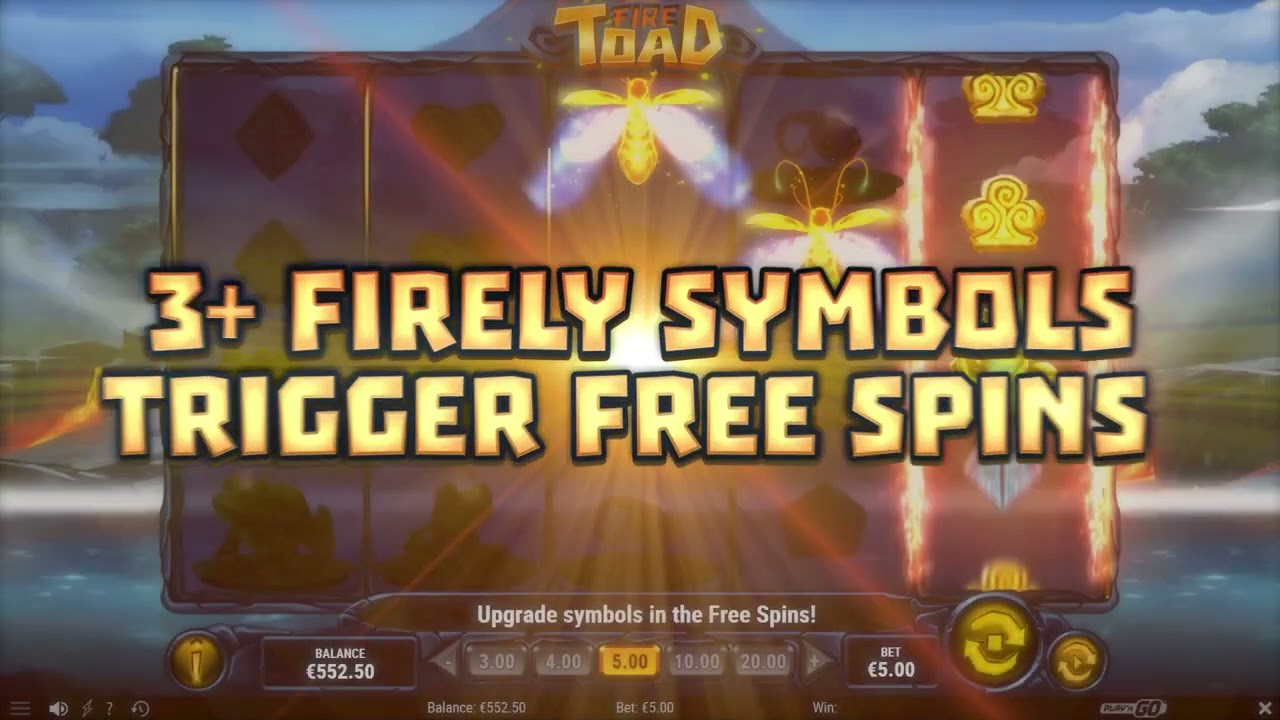 Fire Toad Slot Play Free ▷ RTP 96.2% & High Volatility video preview