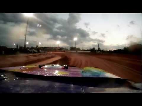 Waycross Motor Speedway Car #3 Pure Stock Heat Race 4/14/2012