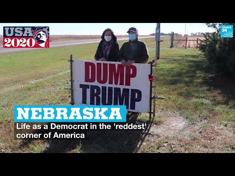 Nebraska: Life as a Democrat in the 'reddest' corner of America