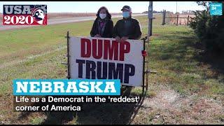 Nebraska: Life as a Democrat in the 'reddest' corner of America