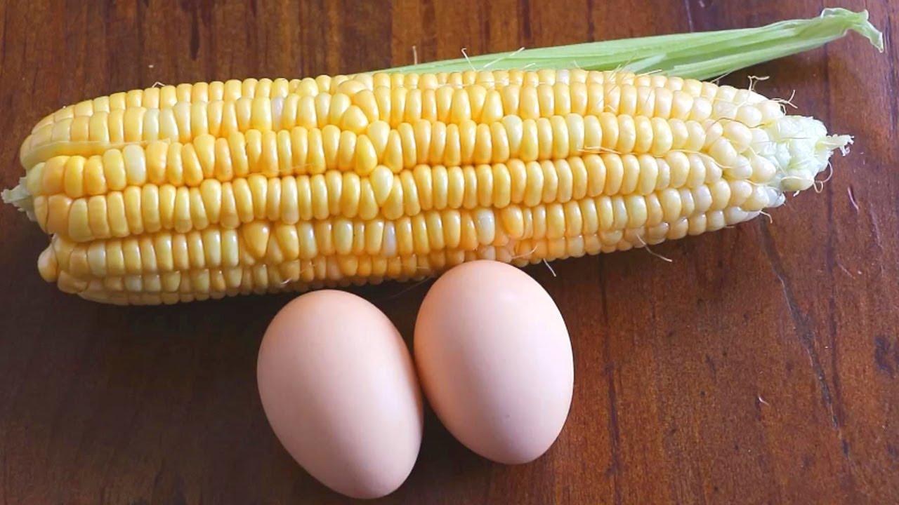 1根玉米2個雞蛋、教你做懶人快手營養早餐,攪一攪就出鍋,特別香! 【夏媽廚房】