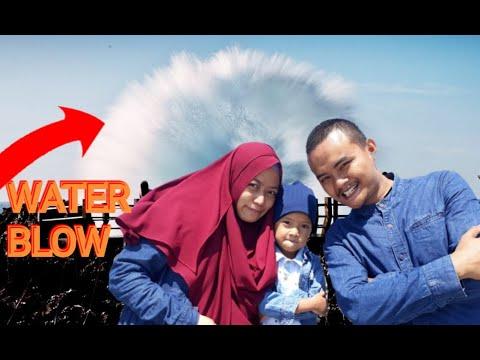 Water Blow Nusa Dua Bali, Wisata Langka di Pulau Dewata