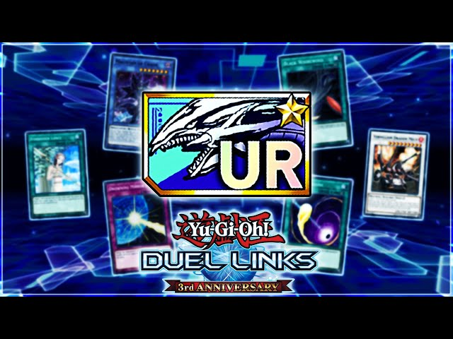 Yu-Gi-Oh! Duel Links | UR Dream Ticket! The BEST Cards To Get with Third Anniversary Dream Ticket!