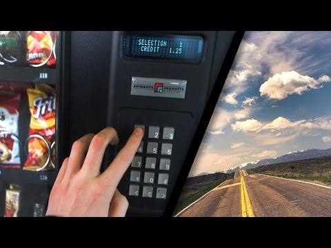 VENDING MACHINE ROAD TRIP!