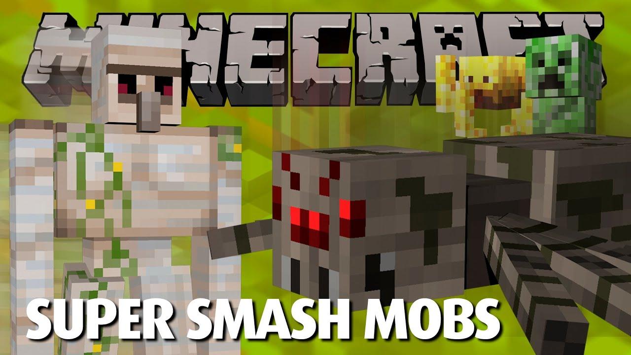 Super smash mobs minecraft server