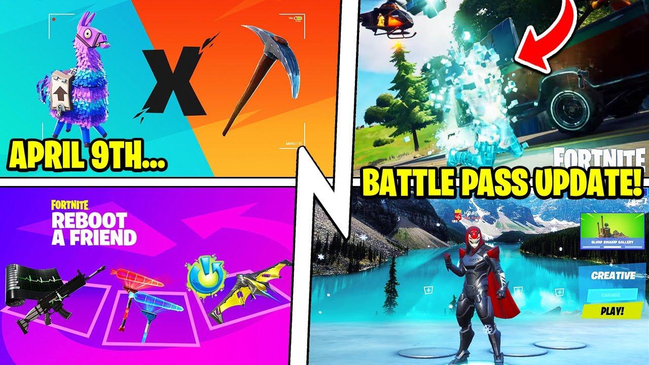 TEASER for April 9th, New Battle Pass Features (Season 7), Netflix!