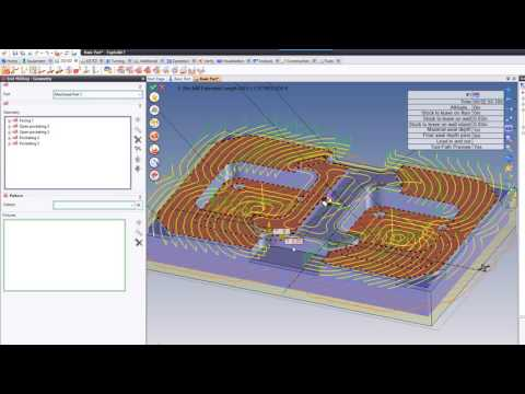 Repeat TopSolid 7 Entry Milling 3D by CAD-CAM Solutions