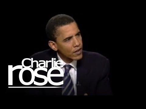 Barack Obama in 2004 | Charlie Rose
