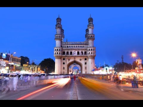 Charminar...hyderabad Map...old City.