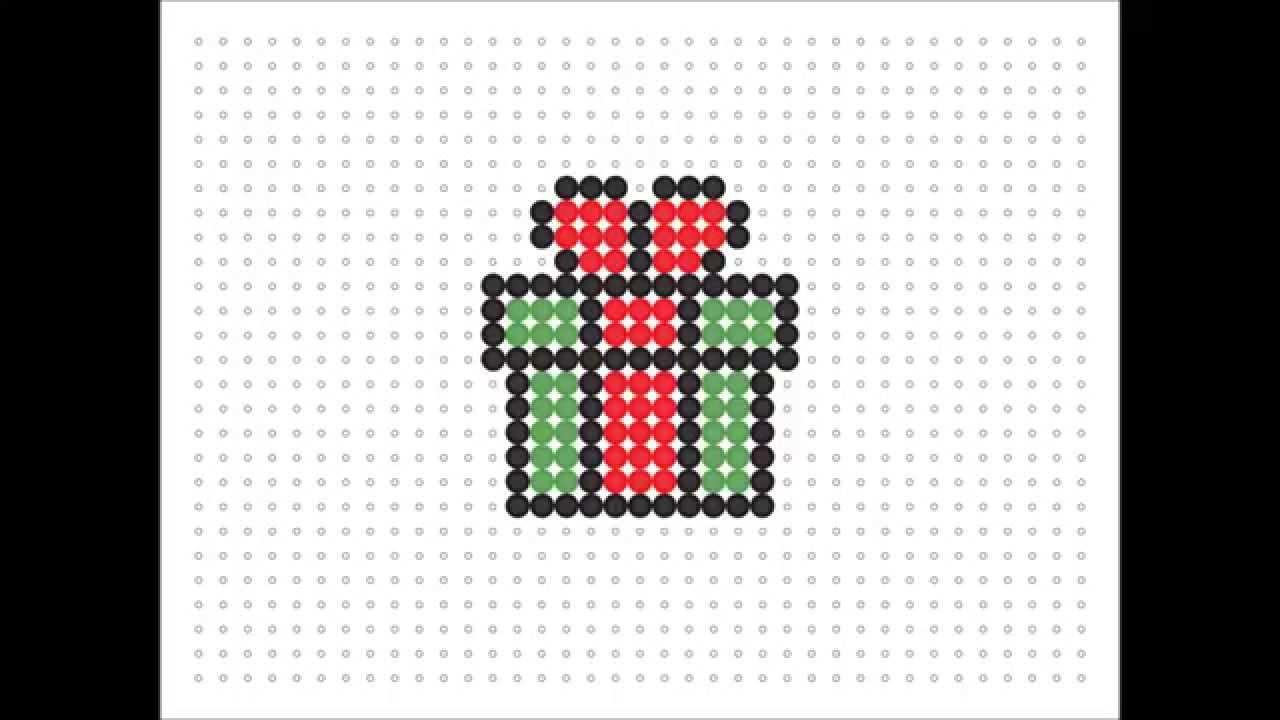 Christmas Hama Beads.Hama Bead Gift Christmas Series 3 15