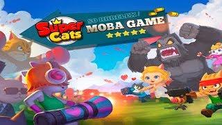 Супер Коты Super Cats Битвы крутых Котиков в режиме 3х3 обзор