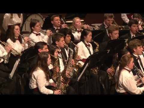 Clowes 1100 Friday Concord Carlisle High School Concert Band DC