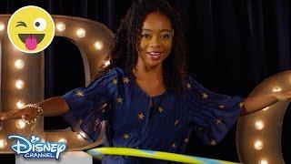 Hula Hoop Challenge Skai Jackson Official Disney Channel UK