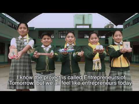Young Entrepreneurs of Tomorrow on YouTube