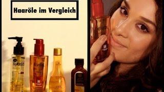 Haaröle im Vergleich (Drogerie und Friseurbedarf)