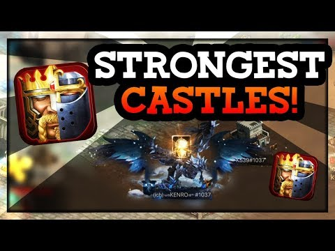 THE MOST POWERFUL CASTLES TOP 5 IN CLASH OF KINGS