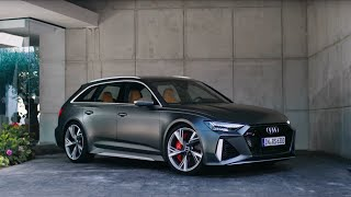 homepage tile video photo for Audi 2021 RS 6 Avant Defined: Overview