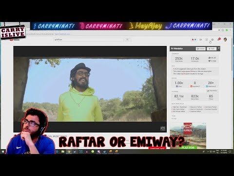 Carryminati reacts to