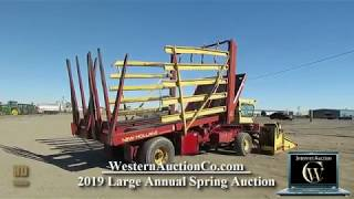 New holland stack wagon