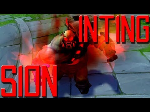 [ITA] INTING SION FUNZIONA DAVVERO?? - SION TOP - League Of Legends thumbnail
