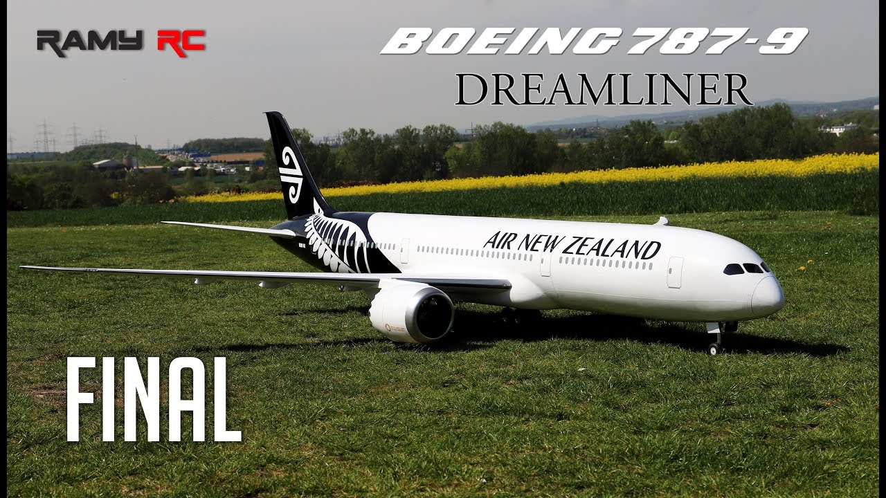 FINAL-BOEING 787-9 RC AIRLINER/ Air New Zealand livery