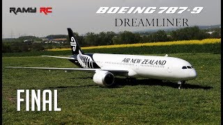 FINAL-BOEING 787-9 RC AIRLINER/ Air New Zealand livery/ Final build part