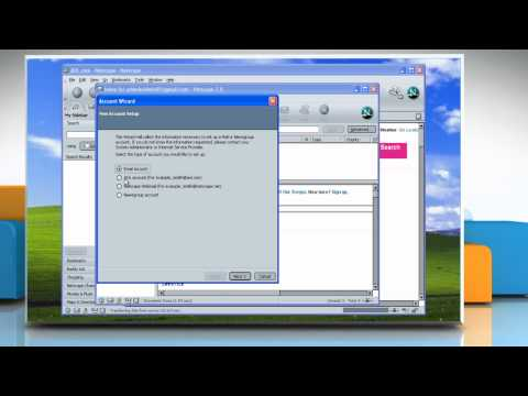 Netscape® 7: Setup an email account