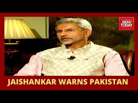 S Jaishankar Speaks On Talks With Pakistan, One Year Of Balakot Air Strike