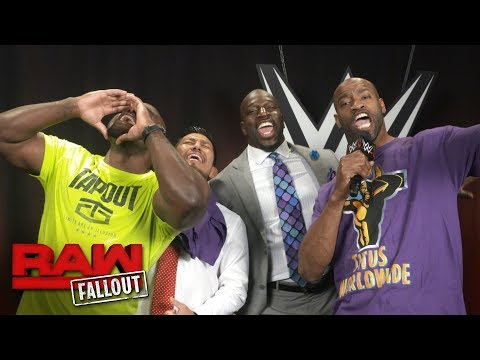 NBA All-Star Vince Carter joins Titus Worldwide: Raw Fallout, Aug. 28, 2017