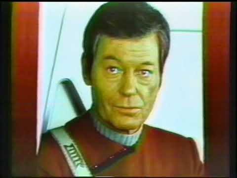 Star Trek Vulkon '88 Convention Commercials January 17-18, 1988 Tampa, , Florida w/ DeForest Kelley