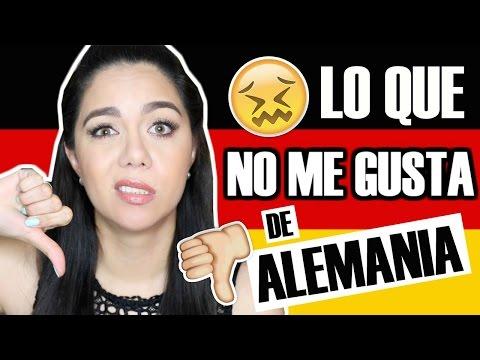 LO QUE NO ME GUSTA DE VIVIR EN ALEMANIA | MARIEBELLE TV