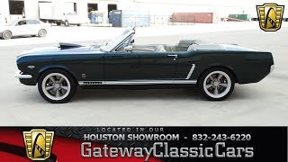 1965 Ford Mustang  Gateway Classic Cars of Houston  Stock 429 HOU
