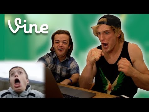 Thumbnail: BEST FRIENDS REACT TO OLD VINES TOGETHER!
