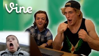 best friends react to old vines together