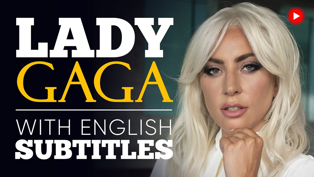 ENGLISH SPEECH | LADY GAGA: Mental Health & Self-Care (English Subtitles)