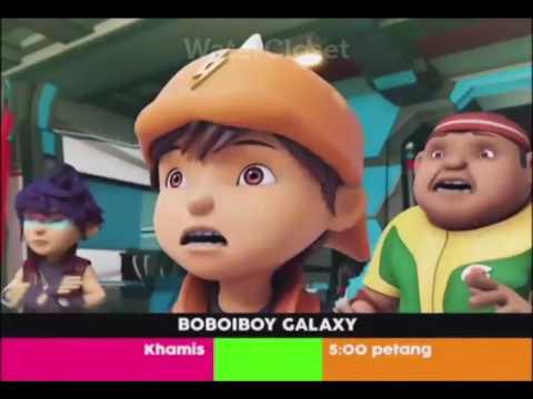 BoboiBoy Galaxy | Promo TV3 | Slot Bananana