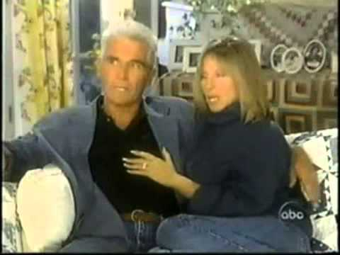 RARE 2 of 2 Barbra & James Brolin  1997 *when they were engaged! Barbra Streisand