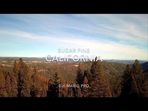 UAV filming over the Sierra's with DJI Mavic Pro and DJI Spark