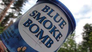 Polnische Rauchbombe BLUE SMOKE BOMB