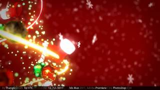 [3d Animation] Merry Christmas 2011 - Mr Smooth