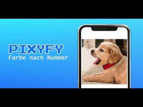 Pixyfy Malen Nach Zahlen Pixel Art Ausmalbilder Apps Bei
