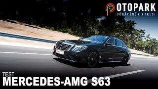 Türkiye'deki TEK Test | Mercedes-Benz AMG S63 | Konfor içinde 310km/h
