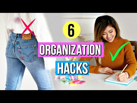 6 Organization Hacks YOU Must Know! Clever & Simple Ideas!