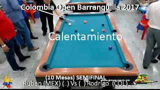 Rodrigo Navarro (Col) Vs Ruben Bautista (Mex) - SEMIFINAL - Colombia Open 2017