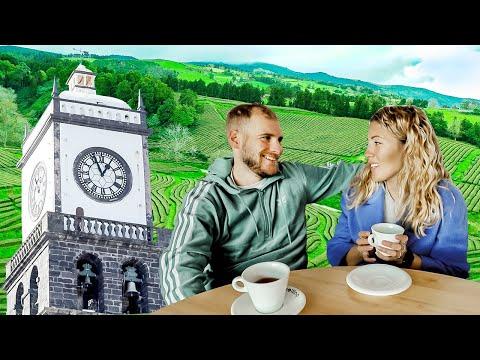 Ponta Delgada & Europe's ONLY Tea Plantation ☕