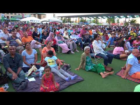 Huge South Asian Pakistani Indian Community Gathering at Mosaic Festival Mississauga Ontario Canada