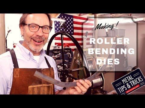 Making roller dies
