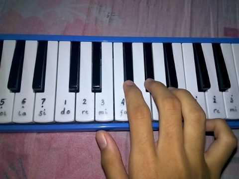 Asal Kau Bahagia - Pianika cover