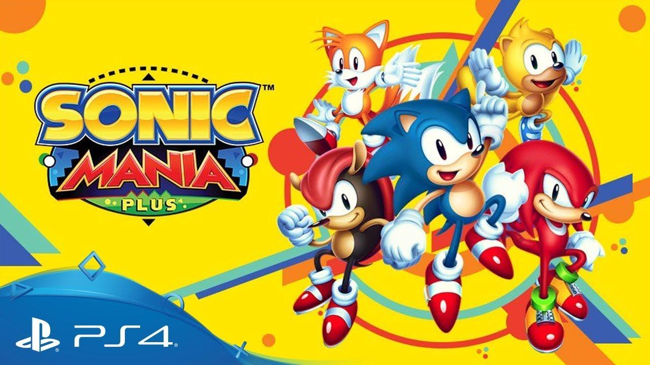Best Platformer Runner-Up 2018: Sonic Mania Plus